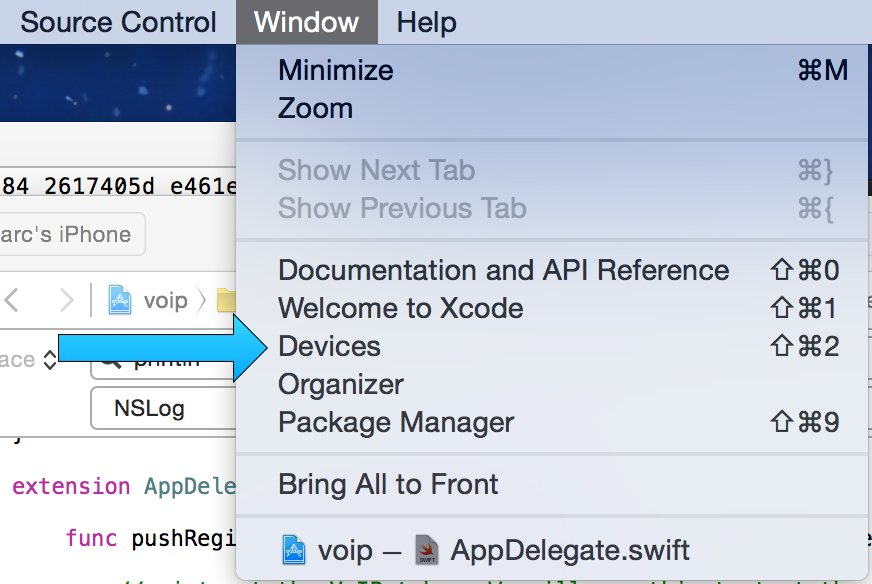 iOS 8 VoIP Notifications